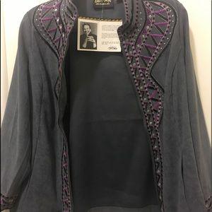 Shirt Style Jacket by Famous Designer   Bob Mackie